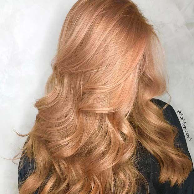 23 Il più bel colore di capelli biondo fragola – pizzo