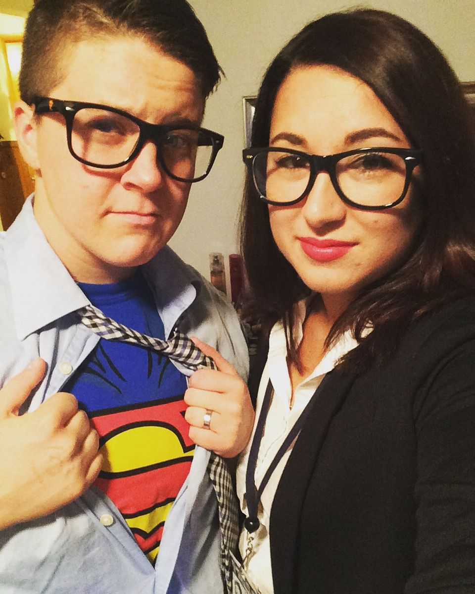 Clark Kent & Lois Lane couple Halloween costume | Seasons ...