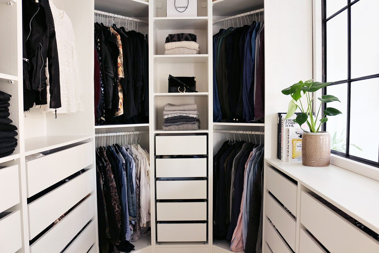 Ikea Slaapkamer Planner : Our walk in closet is done christina dueholm storage pinterest
