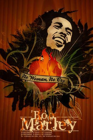 Famous Musicians Iphone Wallpapers Of Famous Singers For Music Lovers Mobile Bob Marley Poster Bob Marley Artwork Bob Marley