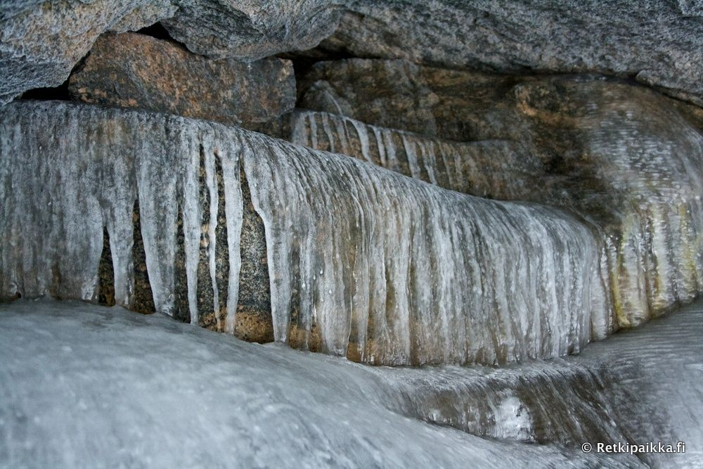 Kammarinmäen jäätynyt luola, Jyväskylä