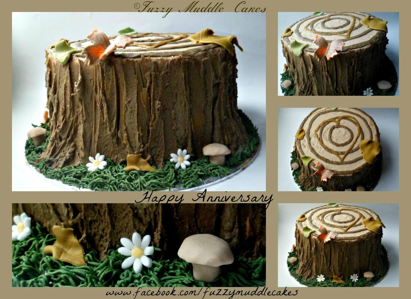 beautiful lines for5th wedding anniversary%0A Anniversary Cakes  Anniversary cake   th wedding anniversary  which is  wood   but
