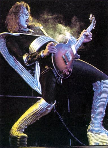 Ace Frehley Les Paul Shooters Smokers Solos Kiss Rock Bands