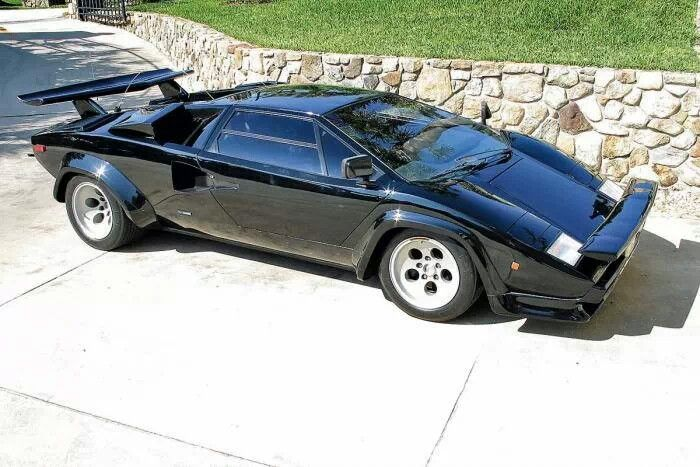 Lamborghini Countach From Cannonball Run The Countach That Started