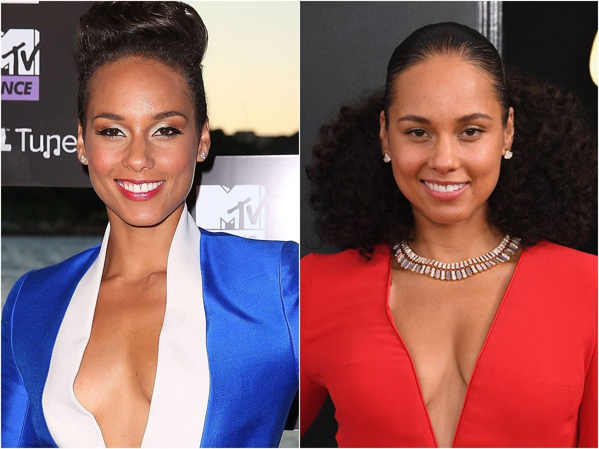 Alicia Keys Is No Stranger To Going Makeup Free Here Are 13 Times She Has Worn Little To No Product Without Makeup Celebs Without Makeup Alicia Keys Without Makeup