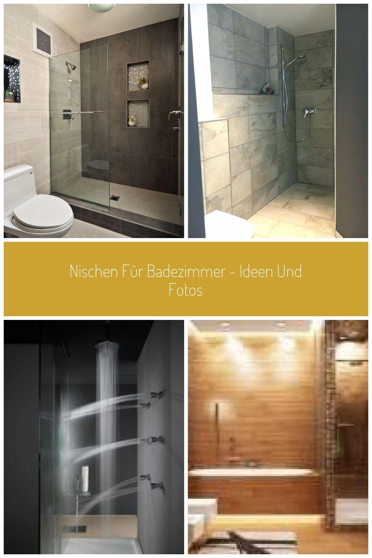 Nischen Fur Badezimmer Ideen Und Fotos Spiegelschrank Beleuchtung Mosaik Fliesen Dusche Regale Wand Wa In 2020 Badezimmer Dusche Beleuchtung Grosse Badezimmer