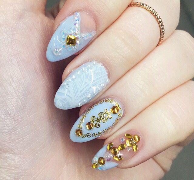 Cinderella Theme Nails Nails Classic Nail Color Cute Nails