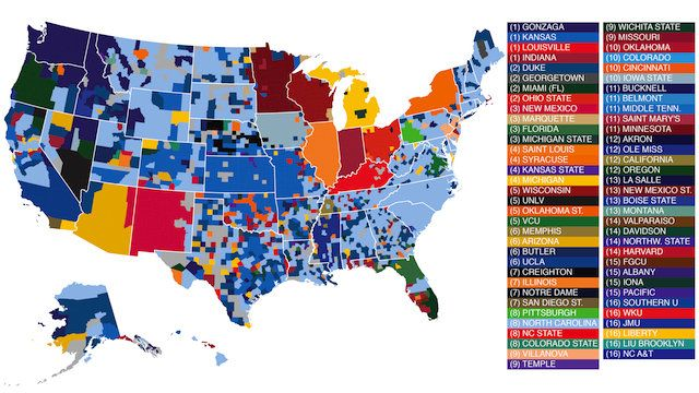 Allegiances To Sports Teams Us Google Sea Djr 71 At Maps - Map-of-sports-teams-in-us