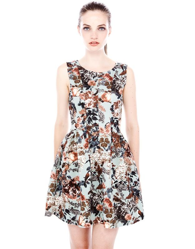 Vestido mujer con flores