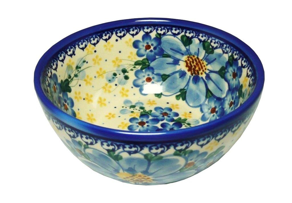 Classic Boleslawiec Pottery Hand Painted Ceramic Bowl 14oz (40cl) 071-A-064
