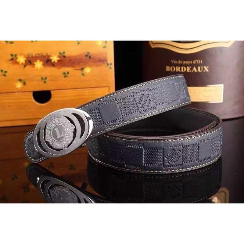 920bb7497 Replica LV Designer Original Soft Genuine Leather Belts For Men 1 : 1  Quality Famous Brands Strap, 3.8cm width
