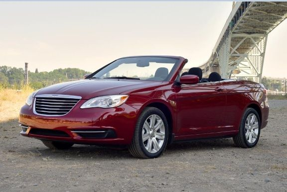The Chrysler 200 Convertible Is A Mid Size Convertible That