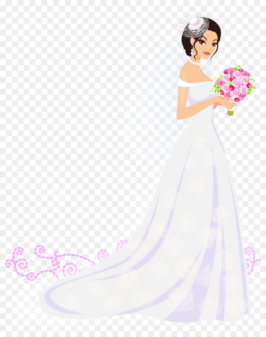Bride Contemporary Western Wedding Dress Flower Vector Bride Png Is About Is About Pink Wedding Dresses With Flowers Western Wedding Dresses Western Wedding