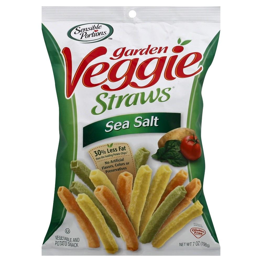 Sensible Portions Sea Salt Garden Veggie Straws 7oz Veggie Straws Garden Veggie Straws Snacks