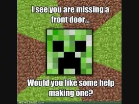 Top 10 Minecraft Memes Youtube Minecraft Memes Memes Minecraft