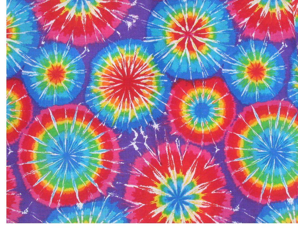 Xanthia Tie Dye wallpaper - weedgarden - Spoonflower