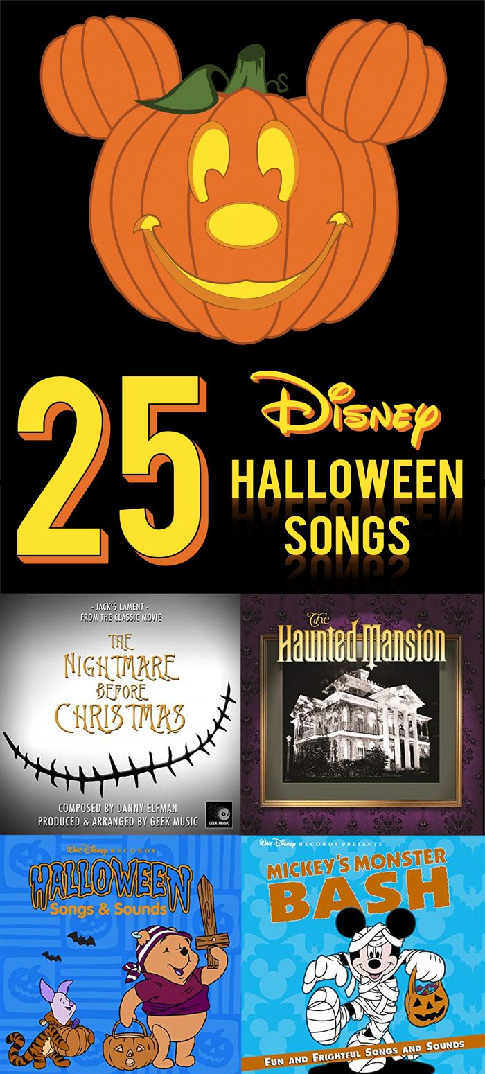 25 Disney Halloween songs you need to download for your