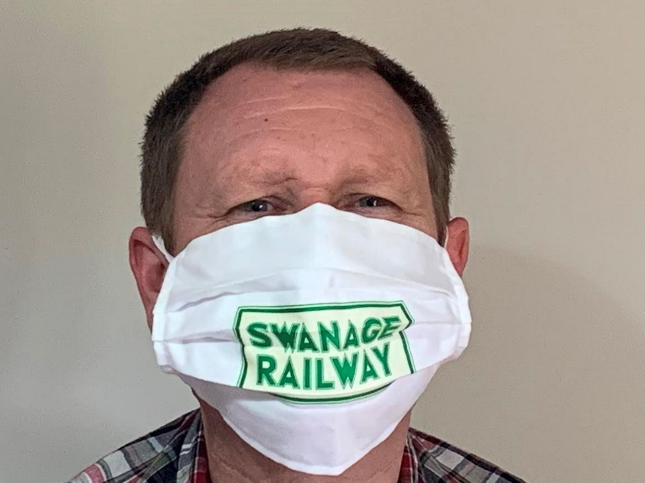 Swanage Railway offers face masks for sale as steam