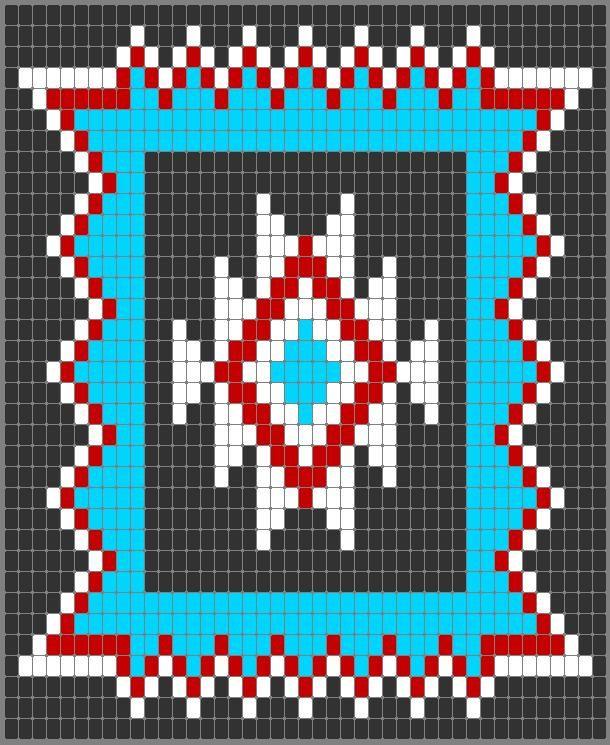 navajo bead designs. Fine Navajo Navajo Star  Loom PatternsBeading  In Bead Designs R