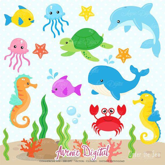 Under The Sea Clipart Under The Sea Clipart Sea Clipart Clip Art