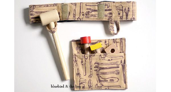 Tutorial: Child-sized play tool belt (Craft Gossip) | Oh Baby ...