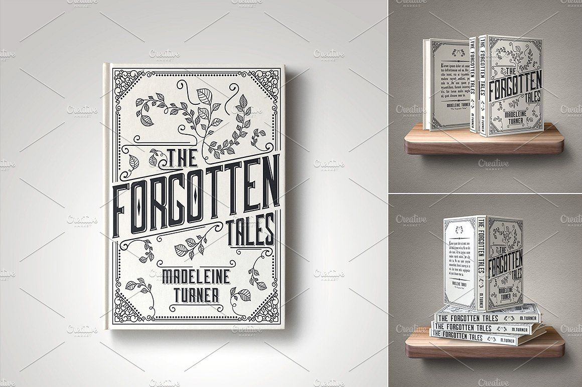Customizable Book Cover Template 45 By Digital Goods On Creativemarket