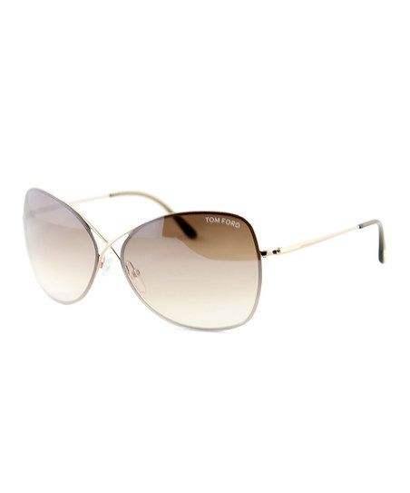 Tom Ford Tan Colette Sunglasses   zulily