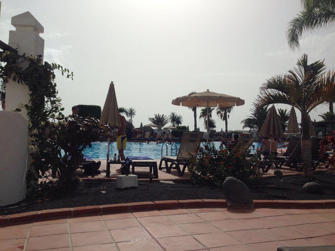 H10 Timanfaya Palace Lanzarote Playa Blanca sun lounging area