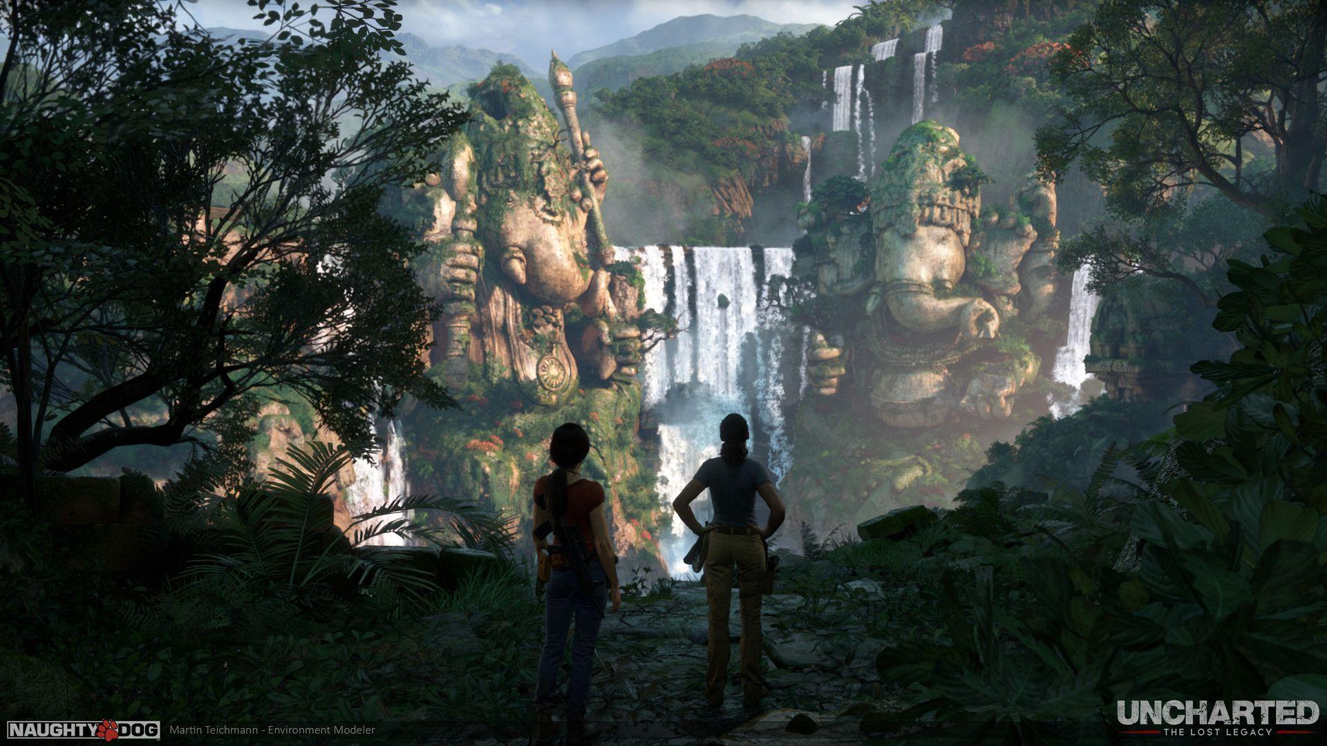 Artstation Uncharted The Lost Legacy Ganesh City Of Halebidu