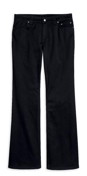 Harley-Davidson® Women's Stretch Twill Contoured Boot Cut Pant 99085-09VW