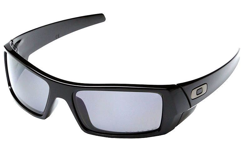 79955e61d57 Oakley GASCAN 12-856 Polarized Matte Black with Black Iridium Lens  Sunglasses  Oakley  Wrap