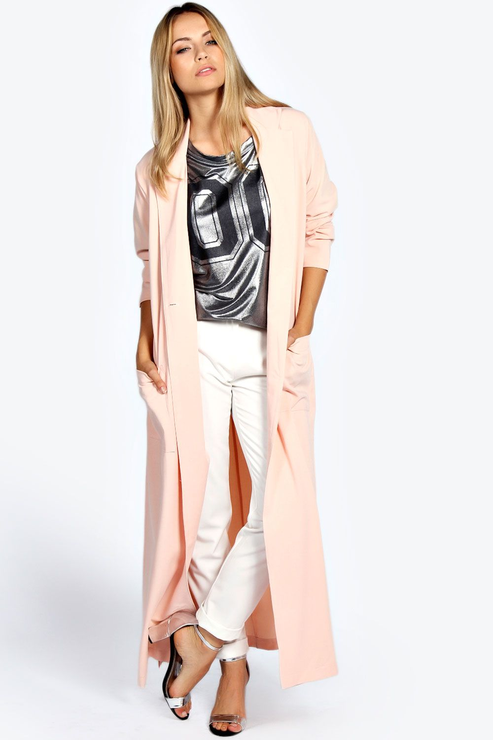 Camille Duster Coat at boohoo.com | Fall and Winter Fashion ...