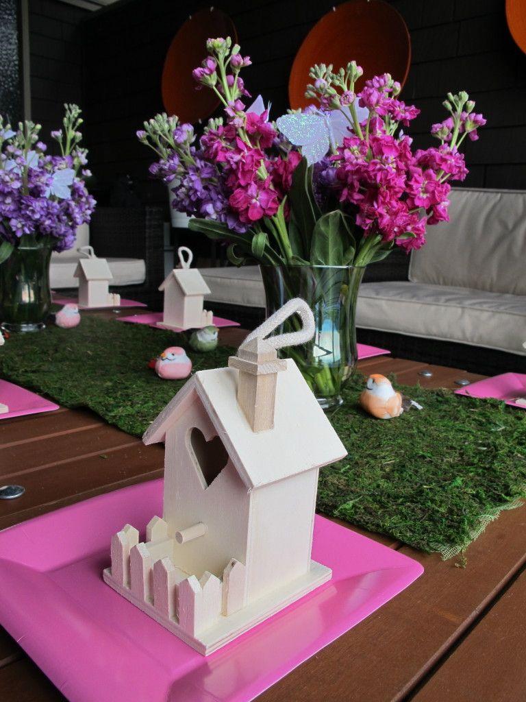 Weekend Entertaining - Fairy Birthday Party