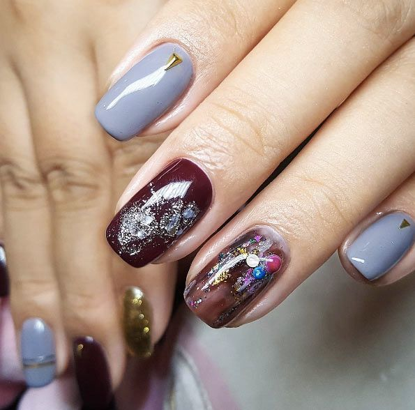 40 Crazy Cool Nail Designs For Fall Faded Nails Leopard Nails And