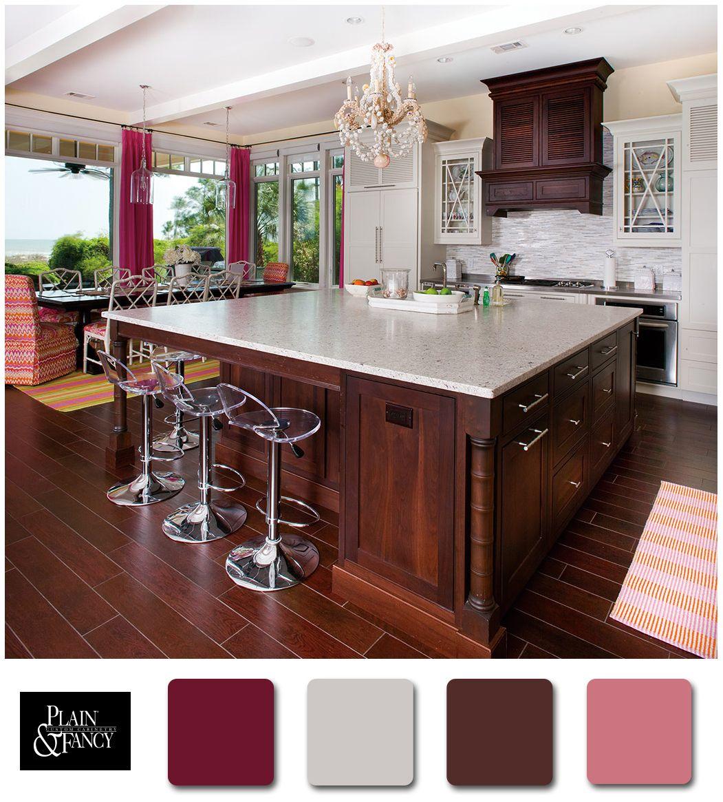 beachy kitchen color palette