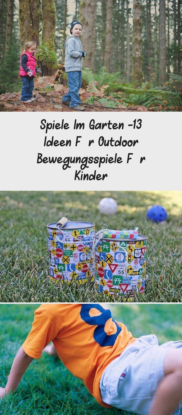 Games In The Garden 13 Ideas For Outdoor Exercise Games For Children In 2020 Spiele Im Garten Outdoor Training Spiele
