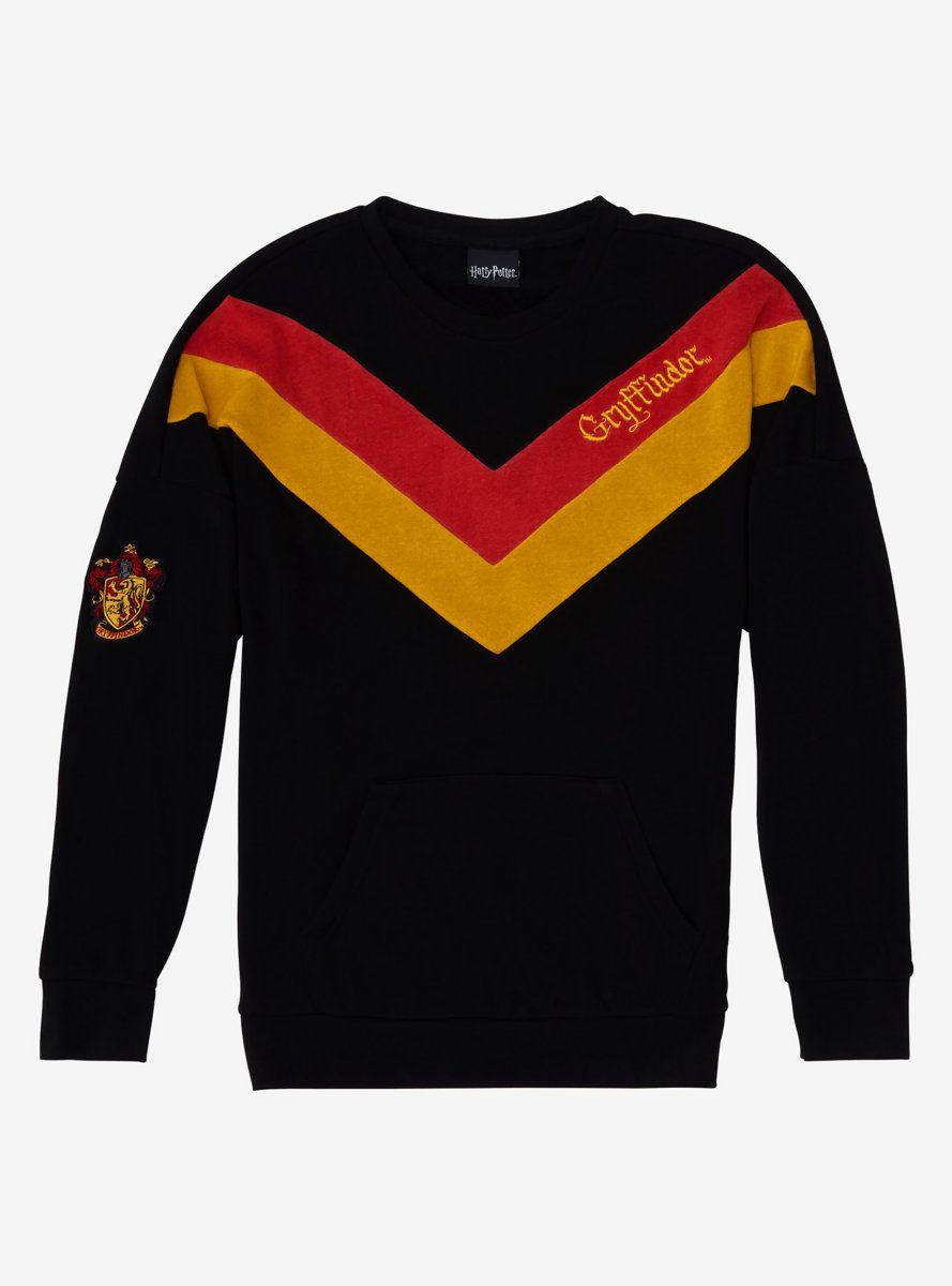 Harry Potter Gryffindor Chevrons Girls Sweatshirt Sweatshirts Girl Sweatshirts Harry Potter Sweatshirt [ 1200 x 889 Pixel ]