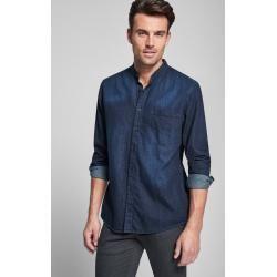 Stehkragenhemden #denimstreetstyle
