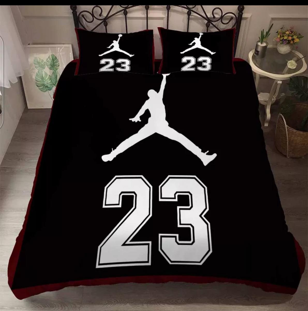 Jordan enthusiast bedding set Boys duvet cover, Sports
