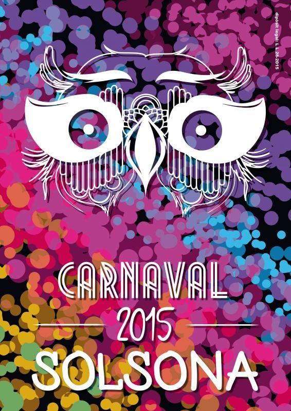 Carnaval De Solsona Febrer 2015 Carnaval Cartel