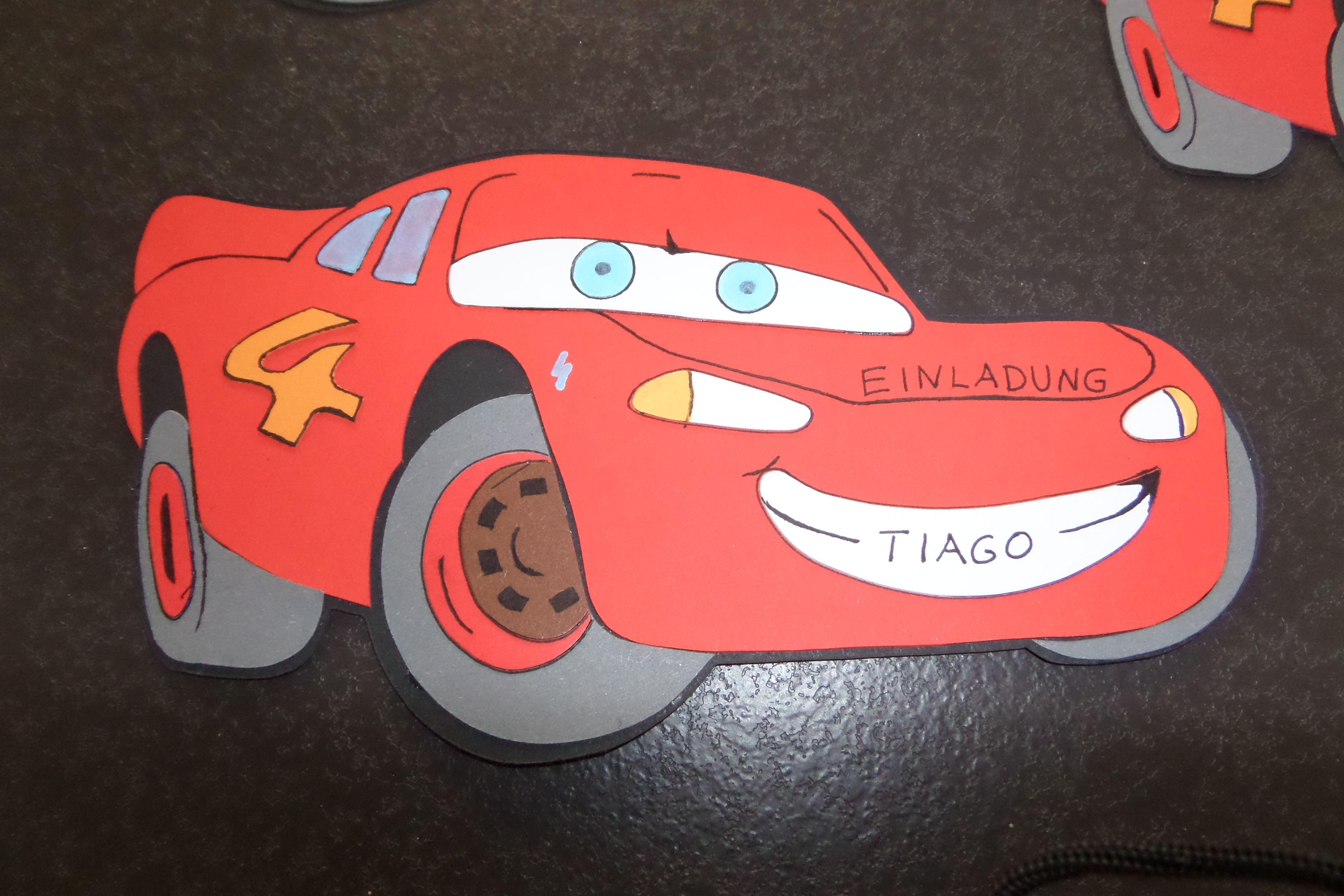 einladungskarten kindergeburtstag cars – kathyprice, Einladungsentwurf