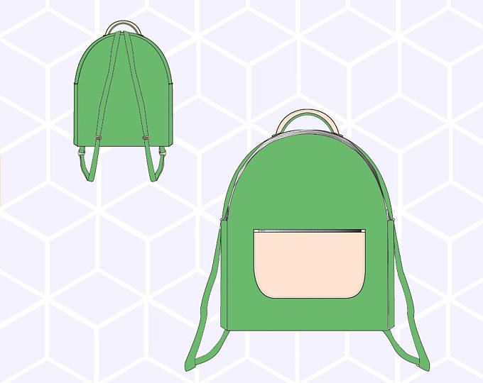 Bookworm Backpack and Lunchbox - Ellie Inspired Bag PDF pattern | Mi ...