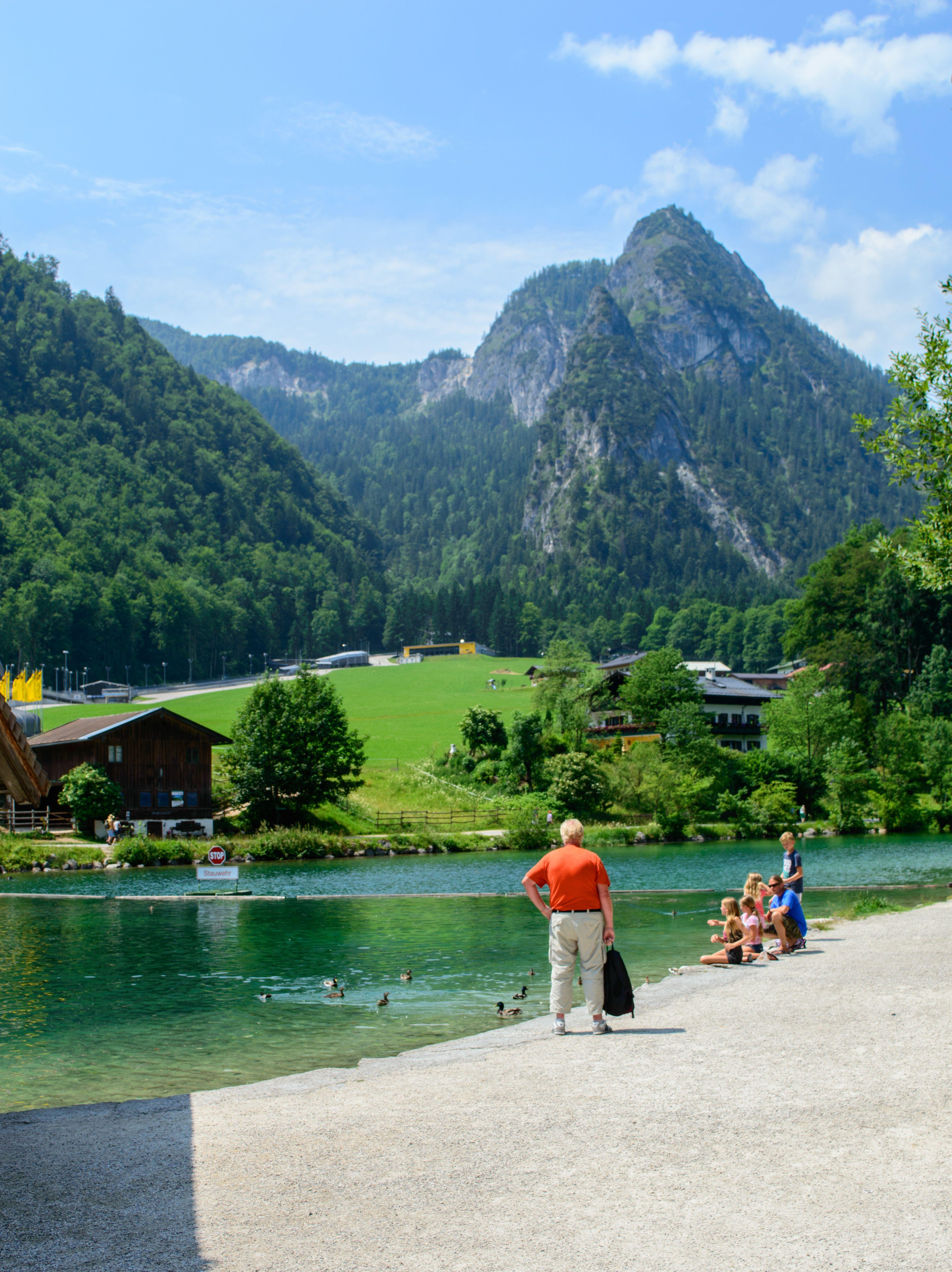 Bertechsgaden Konigsee Germany Berchtesgaden Alps Travel