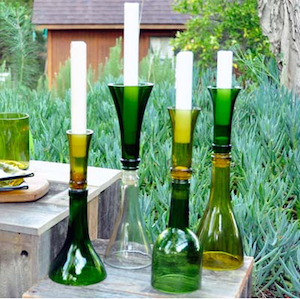 Another great diy wine bottle candle holder option for the love another great diy wine bottle candle holder option solutioingenieria Images