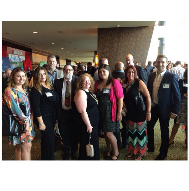 Team #BGD reporting from the Houston Business Journal Fast 100! #HBJfast100