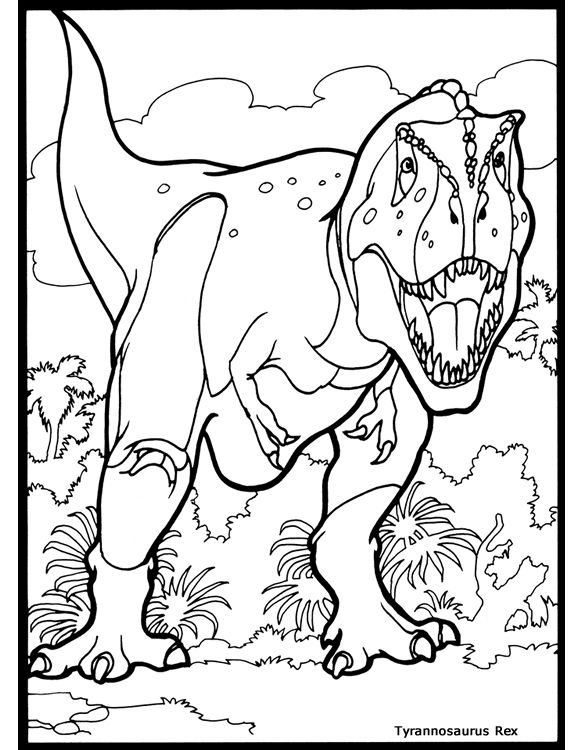 the threatening triceratops from jurassic park coloring page ... - Lego Jurassic Park Coloring Pages