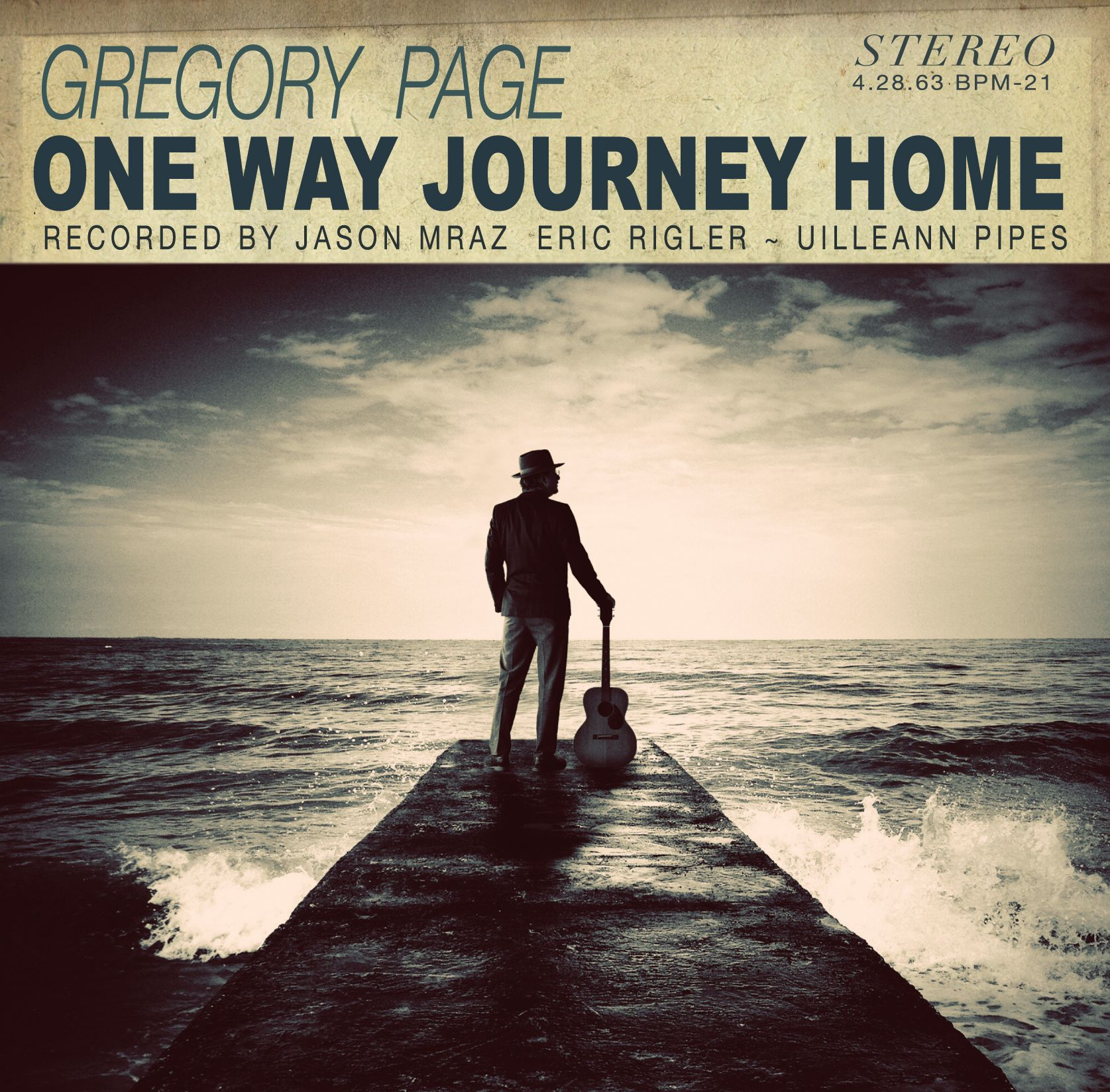 Gregory page one way journey home 2014 songwriting