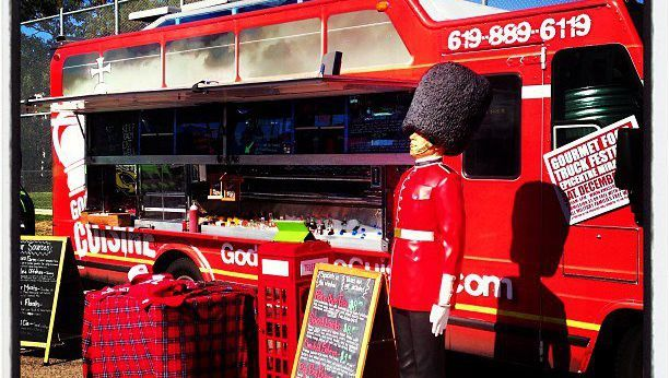 British influenced food truck, located in San Diego that serves delicious organic eats.