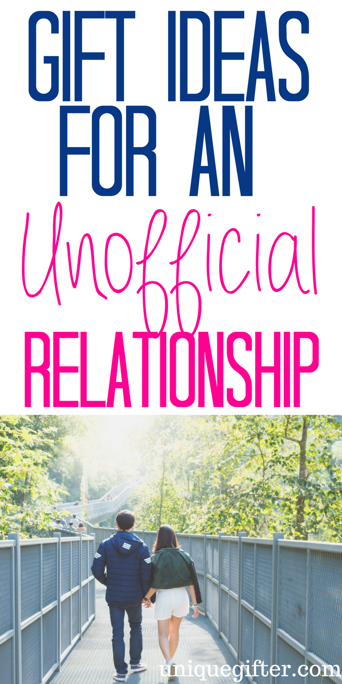 20 Gift Ideas For An Unofficial Relationship Useful Pins Gifts
