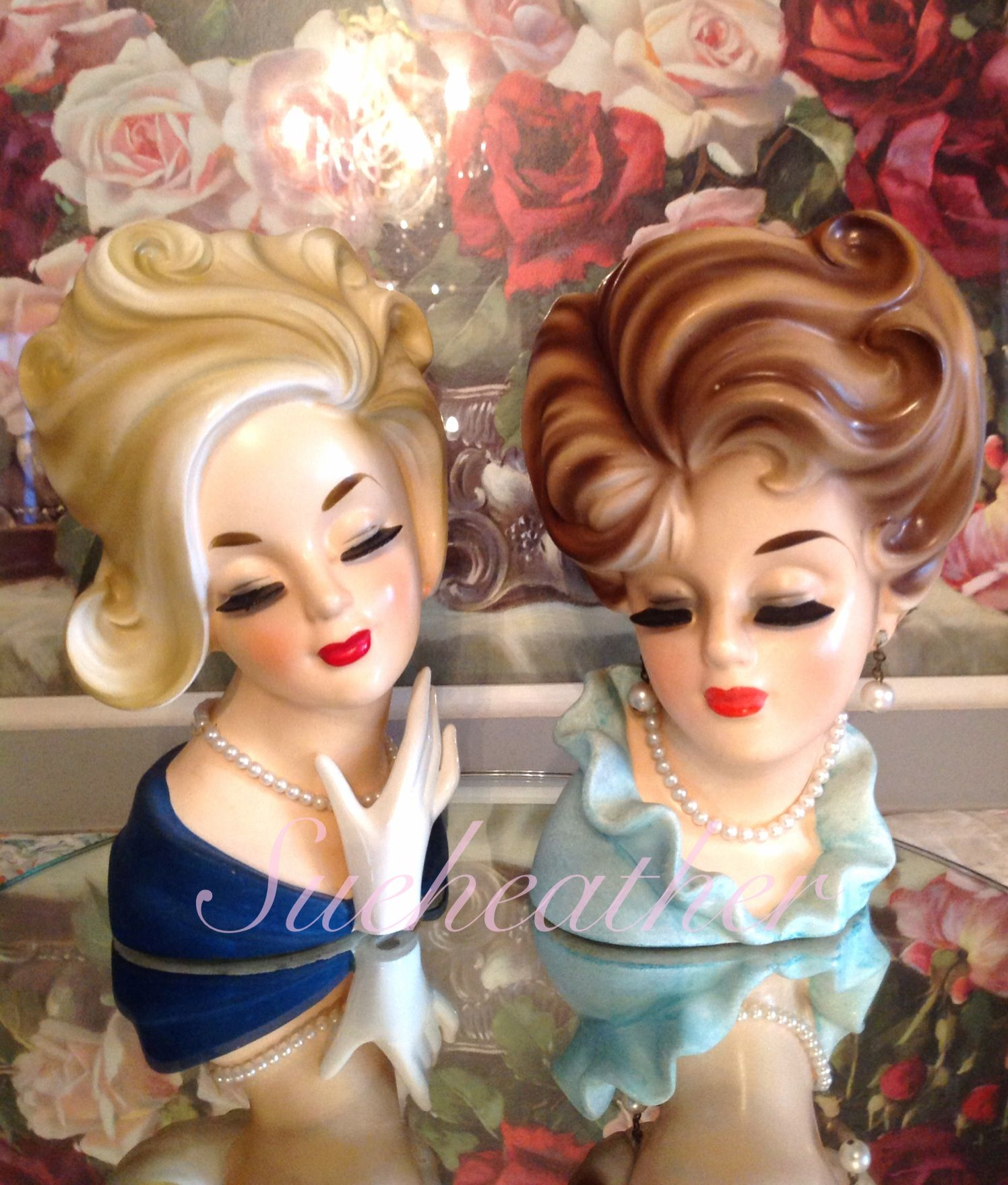 Lovely ladies from facebook group vintage lady head vases head lovely ladies from facebook group vintage lady head vases reviewsmspy